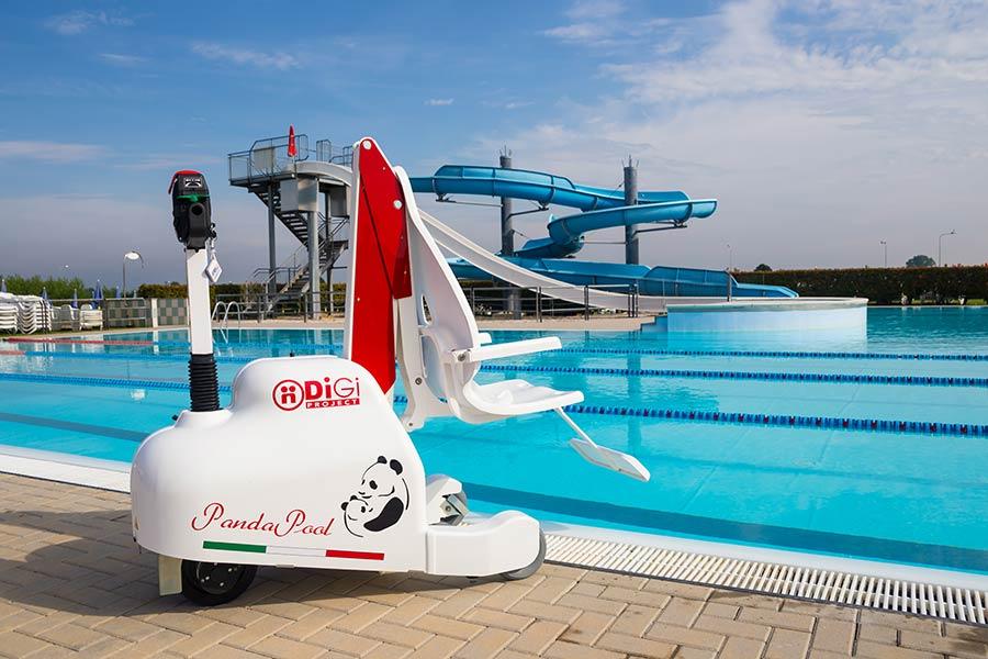Elevadores móviles para piscina - PandaPool