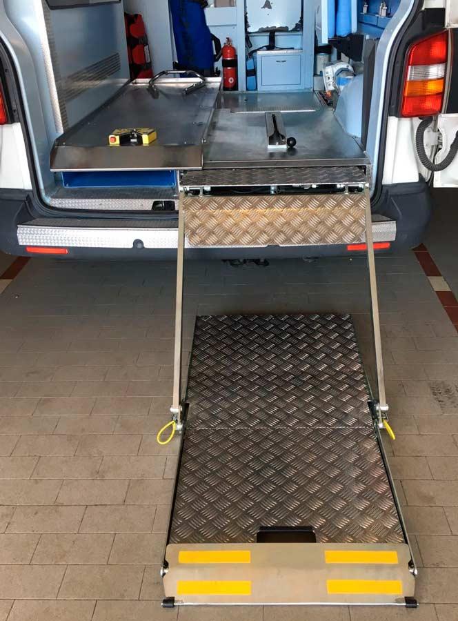 Elevador de plataforma semi automático SCI 1280 - 600 / 800