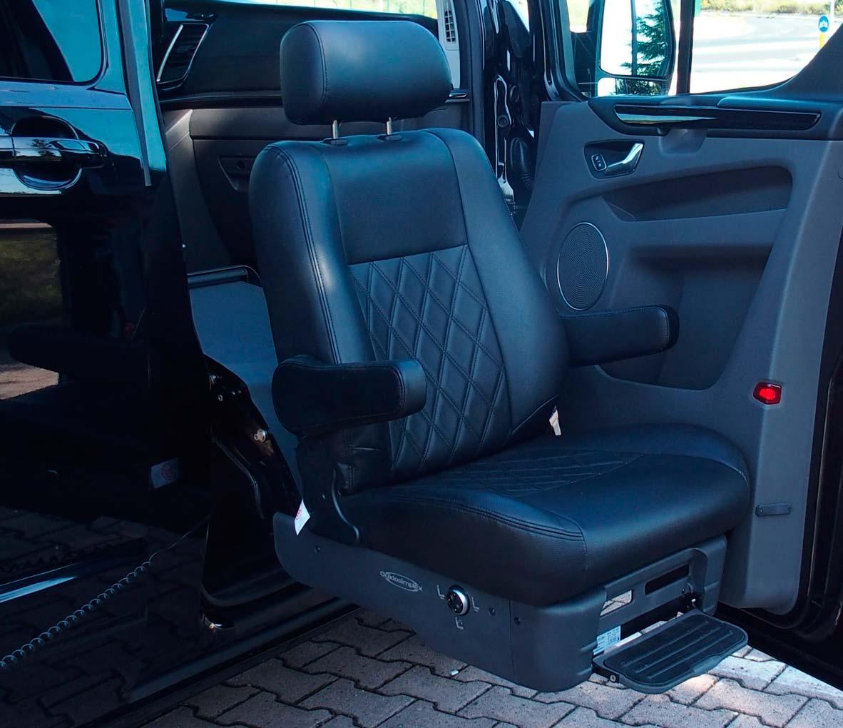 D-Tran Sistema de embarque pasajeros en silla de ruedas discapacitados
