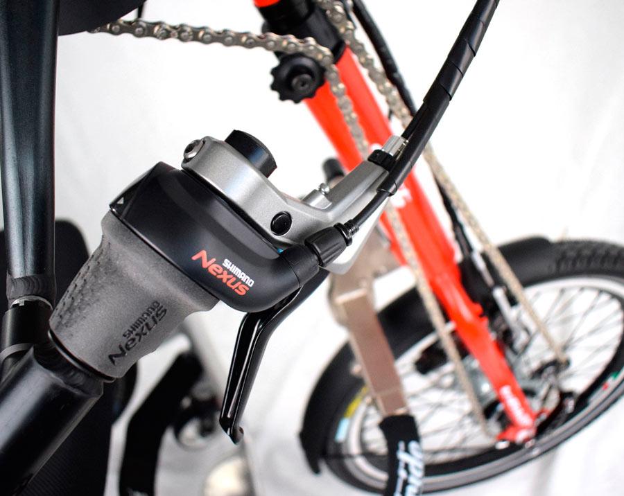 Motores para silla de ruedas - Bicicleta manual TRI-BIKE