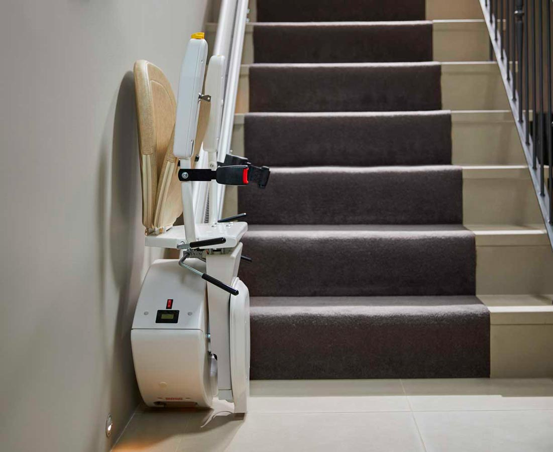 Silla salva escaleras recto rectas